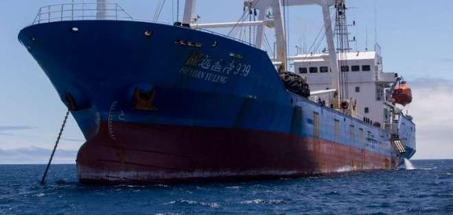 Ratifican sentencia contra tripulantes de barco chino capturado en Ecuador. Foto: Archivo - AFP