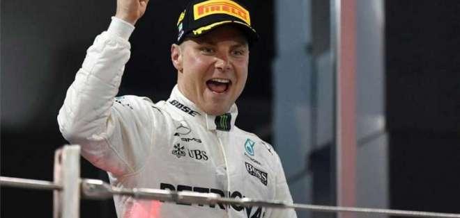 El finlandés Valtteri Bottas finaliza el Mundial en el tercer cajón del podio.