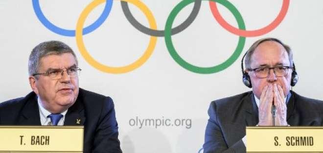 El COI suspendió a Rusia de participar en esta justa deportiva por el dopaje de Estado. Foto: AFP