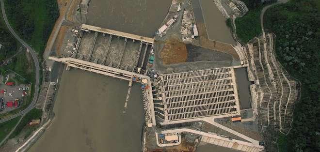 En Gobierno de Correa se impulsó construcción de 8 centrales hidroeléctricas para cambio de matriz productiva. Foto: Archivo energia.gob.ec