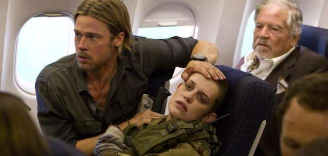 'Guerra mundial Z' entre las películas de este fin de semana. Foto: referencial