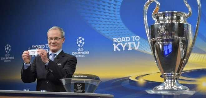 En Nyon, Suiza, se efectuó el sorteo de los octavos de final de la UEFA Champions League.