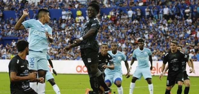 Emelec recibe a Delfín en la primera final del fútbol ecuatoriano. La vuelta será el domingo en el Jocay.