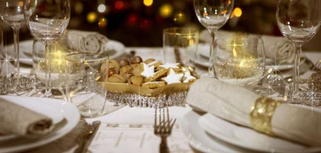 Si hay un sitio donde surge la Navidad es, sin duda, en la mesa.