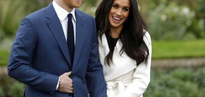LONDRES, Reino Unido.- La pareja anunció su compromiso en noviembre de 2017 después de un romance de 18 meses. Foto: AP.