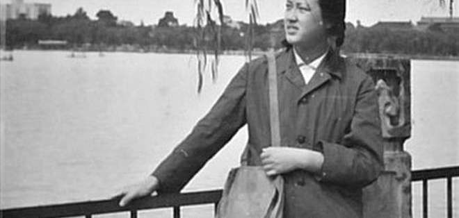 Yuwen Wu en 1978, el año que se inscribió en la Universidad de Pekín.