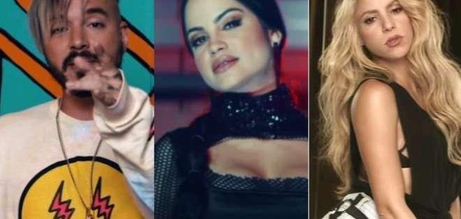 Seis de los 10 videos musicales más populares en YouTube son de artistas latinos. Foto: Collage Ecuavisa.