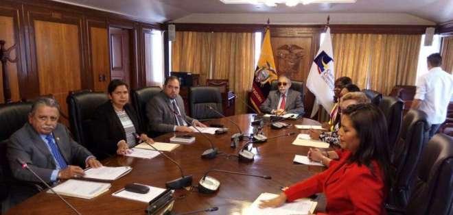Ocho jueces votaron a favor del dictamen de admisibilidad. Foto: @panchogarces