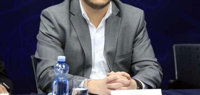 Andrés Mideros ocupará el puesto que dejó Eduardo Mangas el 11 de diciembre de 2017. Foto: flickr. presidenciadelEcuador