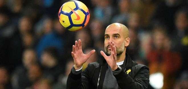 Pep Guardiola ha logrado 55 de 57 puntos posibles en la Premier League.