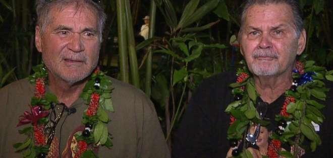 Alan Robinson y Walter Macfarlane nacieron en Hawai con 15 meses de diferencia, se conocieron en sexto grado y jugaron juntos fútbol americano en una secundaria de Honolulu. Foto: AP