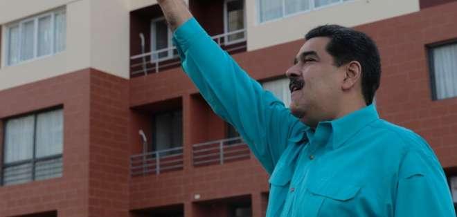 Mandatario no ha dado fechas de lanzamiento de la nueva moneda virtual. Foto: Twitter Prensa Venezuela