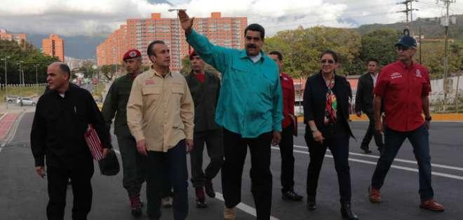 En un acto político, el presidente de Venezuela insultó a su homólogo argentino, Mauricio Macri. Foto: Archivo