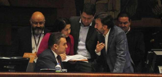 Sesión en la Asamblea Nacional. Foto: API