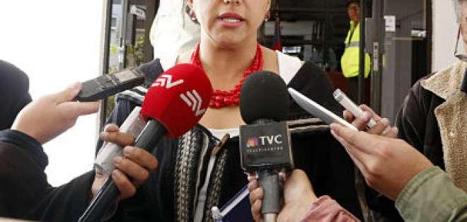 Rivadeneira también mencionó, que si no se realizaba el proceso se estaría sentando un mal precedente. Foto: API