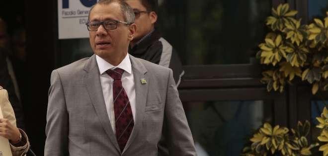 Jorge Glas solicitó ser convocado a comparecer dentro del trámite de juicio político. Foto: Archivo - referencial