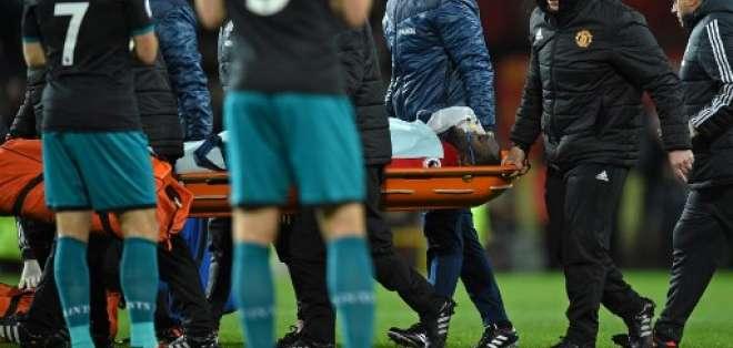 Esto sucedió durante el partido entre el Manchester United y el Southampton por la Premier League. Foto: AFP
