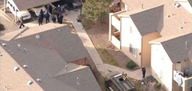 Tiroteo en Denver (EEUU) deja un policía muerto y seis heridos.