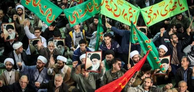 Irán.- Las manifestaciones en este país asiático han provocado el fallecimiento de 21 personas. Foto: AFP