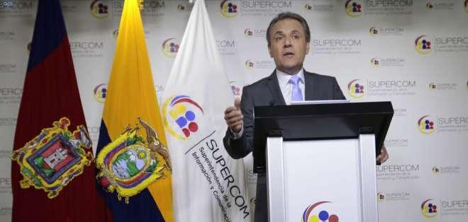 """Supercom indica que cumple con sentencia """"a pesar de no acoger fallo judicial"""".  Foto: API"""