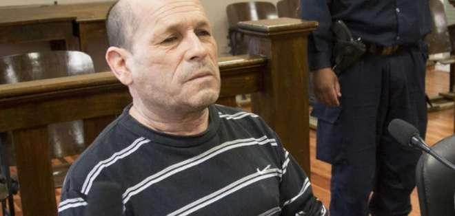 Domingo Bernardino Bulacio fue condenado a 12 años y 8 meses de cárcel por un tribunal. Foto: Infobae.