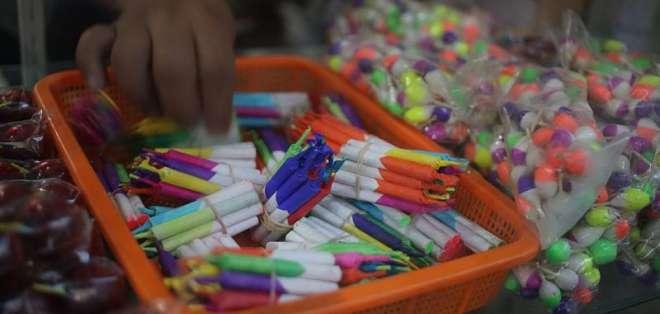 El Ministerio del Interior informó que en Guayas se encontró la mayoría de explosivos ilegales decomisados. Foto: Ilustrativa/Archivo.