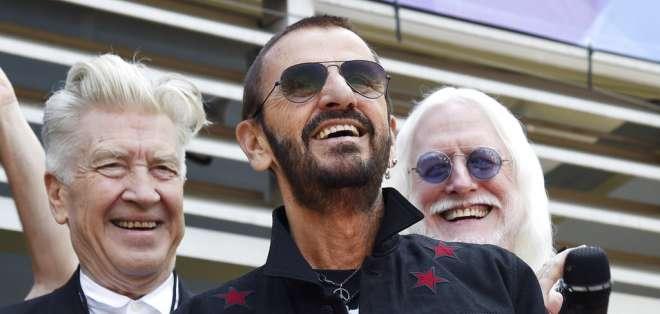 Ringo Starr es el baterista de una de las bandas más famosas en la historia de la música. Foto: AP.