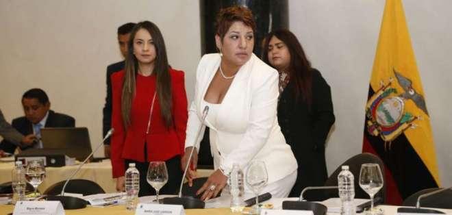 QUITO, Ecuador.- La presidenta de la Comisión de Fiscalización señaló que no hubo demora en el proceso. Foto: API