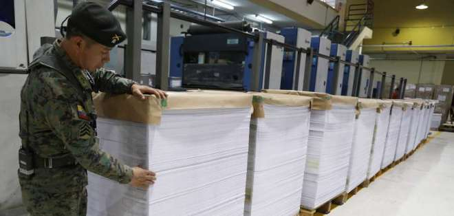ECUADOR.- Para el 4 de febrero está previsto el plebiscito planteado por Moreno. Foto: CNE