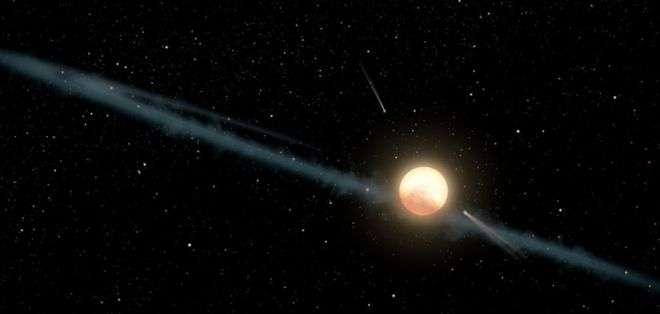 La estrella generó intriga desde su descubrimiento, en 2015. Foto: Nasa/JPL-Caltech