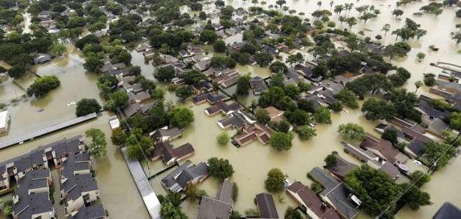 En 2017 hubo 16 desastres en Estados Unidos, según NOAA. Foto: Archivo AP