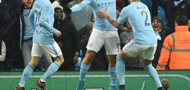 El delantero argentino hizo el gol del triunfo al minuto 92. Foto: AFP