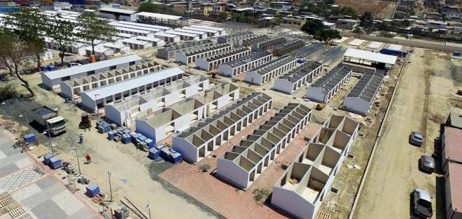 """MANABÍ, Ecuador.- El ministro había dicho que usaron ese dinero para no tener """"recursos ociosos"""". Foto: Archivo Flickr Reconstrucción Ecuador"""