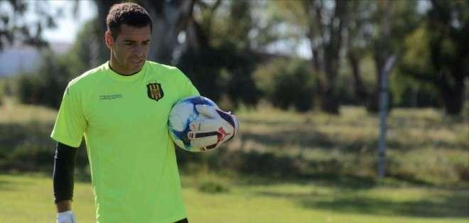 El portero argentino de 32 años llega el fin de semana al país. Foto: Tomada de lanueva.com