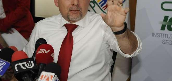 Extraoficialmente se conoce que exfuncionario podría ocupar cargo en embajada en Italia. Foto: API