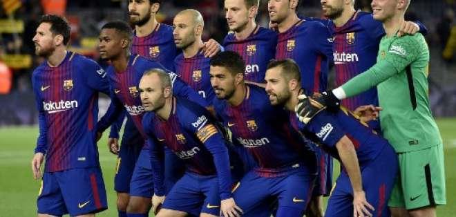El FC Barcelona se enfrentará al Espanyol en el clásico catalán. Foto: AFP