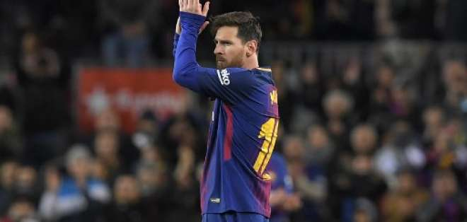 El atacante argentino renovó recientemente su contrato con el equipo español. Foto: AFP