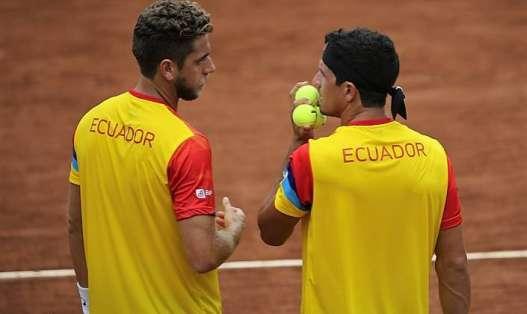 Roberto Quiroz y Emilio Gómez forman parte del equipo 'tricolor'. Foto: Tomada de la página fet.ec