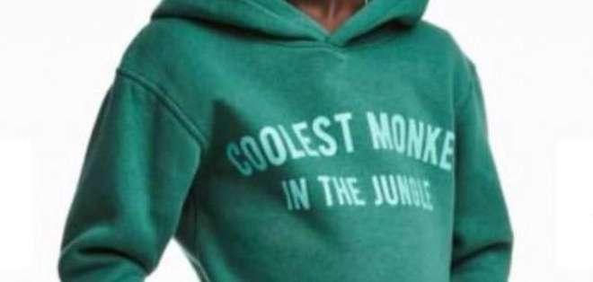 """""""El mono más genial de la jungla"""" decía el mensaje en una sudadera de H&M la cual fue motivo de la polémica. (Foto: H&M)"""