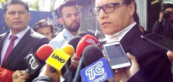 Villavicencio explicó que en el acto urgente que presentó a Moreno anexó más de 400 fojas con el informe de Contraloría. Foto: API