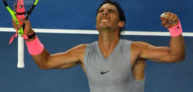 Casi cuatro horas necesitó Nadal para superar al argentino Diego Schwartzman.