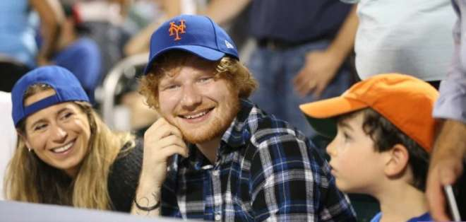 """Sheeran dijo hace unos meses que Seaborn le inspiró su canción """"Perfect"""". Foto: Tomada d The Sun.uk."""