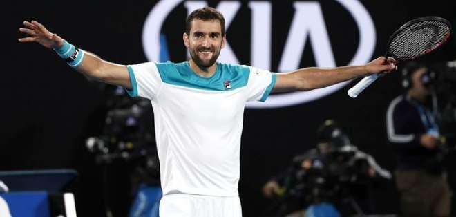 Es la primera final del tenista croata en el primer Grand Slam de la temporada.