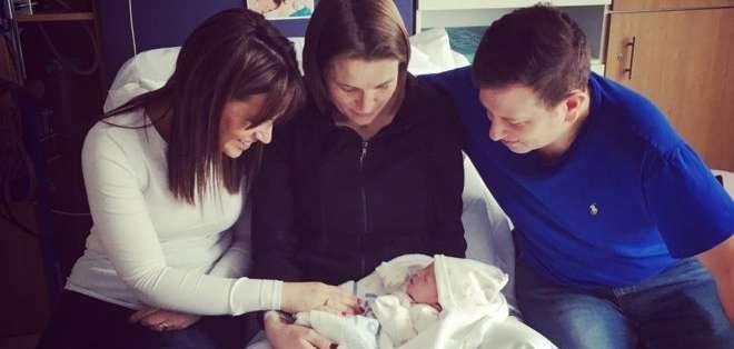 El nacimiento fue un momento emocionante para todos. (Foto: Laura Mott)
