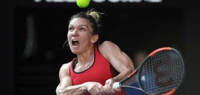La rumana Simona Halep es la actual número uno del tenis mundial. Foto: AFP