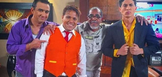 El director de Ecuavisa, 'Lucho' Aguirre cumplió 43 años de trayectoria artística. Foto: Instagram @diamantedonday