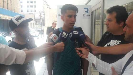 El jugador ecuatoriano pasó la revisión médica realizada este lunes 29 de enero. Foto: Tomada de la página http://muyindependiente.com