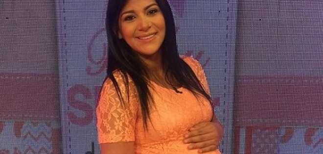 Baby shower de Rahab Villacrés se celebra En Contacto. Foto: Instagram En Contacto