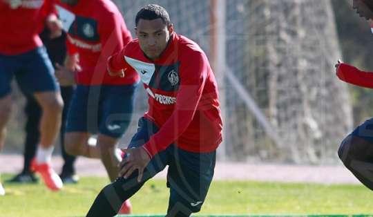El jugador ecuatoriano no ha tenido regularidad en el Getafe esta temporada. Foto: Tomada de la cuenta Twitter @GetafeCF