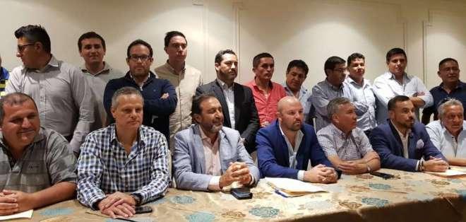 Los directivos de los clubes también dieron luz verde a la Liga de Fútbol Profesional. Foto: @Sonodeportes.